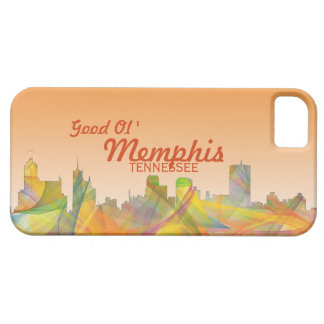 MEMPHIS, TENNESSEE SKYLINE WB1 - iPhone SE/5/5s CASE