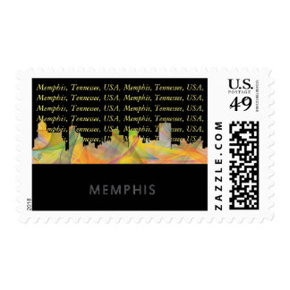 MEMPHIS, TENNESSEE SKYLINE WB1 - STAMP