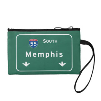 Memphis Tennessee tn Interstate Highway Freeway : Coin Purse