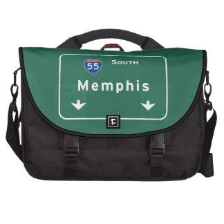 Memphis Tennessee tn Interstate Highway Freeway : Commuter Bag