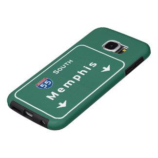 Memphis Tennessee tn Interstate Highway Freeway : Samsung Galaxy S6 Case