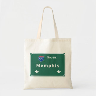 Memphis Tennessee tn Interstate Highway Freeway : Tote Bag