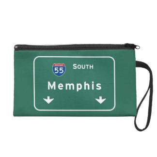 Memphis Tennessee tn Interstate Highway Freeway : Wristlet
