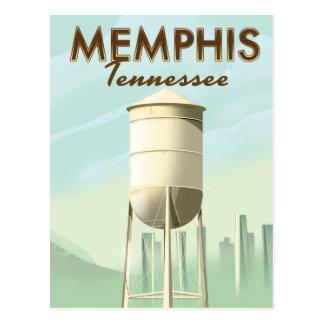 Memphis Tennessee vintage travel poster Postcard