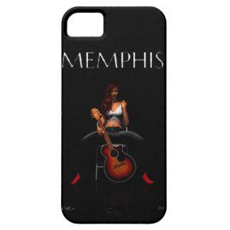 MEMPHIS:: Terciopelo negro Funda Para iPhone SE/5/5s
