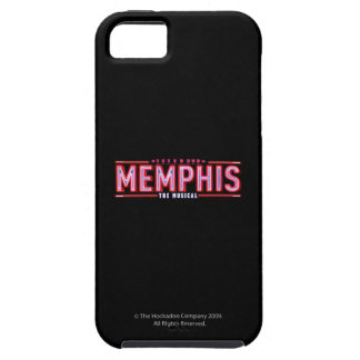 MEMPHIS - The Musical Logo iPhone 5 Cases