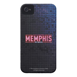 MEMPHIS - The Musical Logo iPhone 4 Case-Mate Case