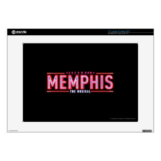 MEMPHIS - The Musical Logo Decals For Laptops