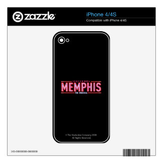MEMPHIS - The Musical Logo Decals For The iPhone 4