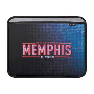 MEMPHIS - The Musical Logo MacBook Sleeves
