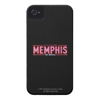 MEMPHIS - The Musical Logo iPhone 4 Cover