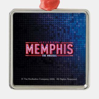 MEMPHIS - The Musical Logo Metal Ornament