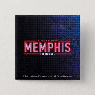 MEMPHIS - The Musical Logo Pinback Button