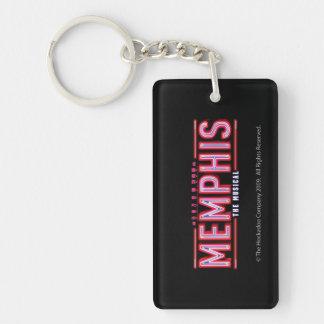 MEMPHIS - The Musical Logo Single-Sided Rectangular Acrylic Keychain