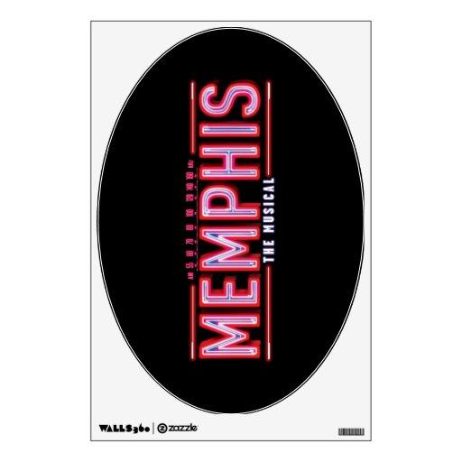 MEMPHIS - The Musical Logo Wall Decal