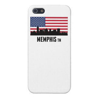 Memphis TN American Flag Case For iPhone SE/5/5s