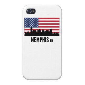 Memphis TN American Flag iPhone 4/4S Cover