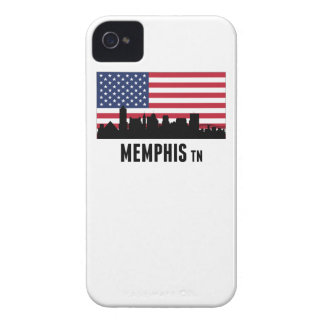 Memphis TN American Flag iPhone 4 Cover