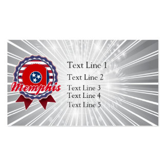 Memphis, TN Double-Sided Standard Business Cards (Pack Of 100)