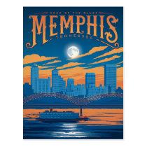 Memphis, TN Postcard