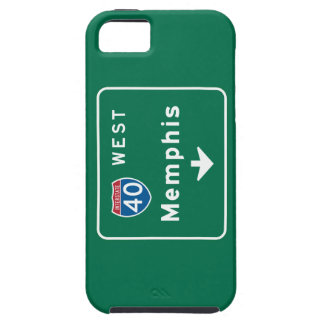 Memphis, TN Road Sign iPhone 5 Covers