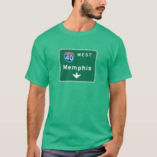 Memphis, TN Road Sign T-Shirt
