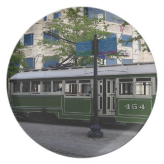 Memphis trolley plate