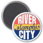 Memphis Vintage Label Refrigerator Magnets