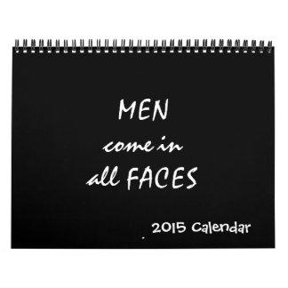 Men 2015 Calendar