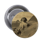 Men and Camels on the Paw of the Sphinx, Pyramids Pins