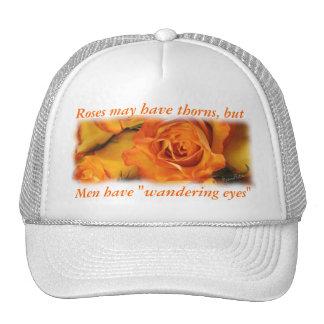 Men and Roses Cap-customize Trucker Hat