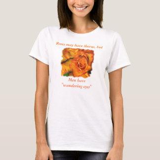 Men and Roses-customize T-Shirt
