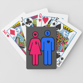 Men and Women Bicycle Playing Cards