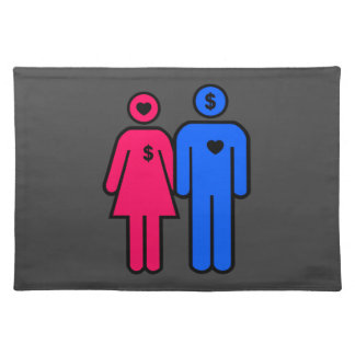 Men and Women Cloth Placemat