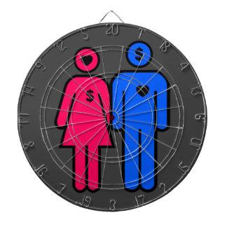 Men and Women Dartboard