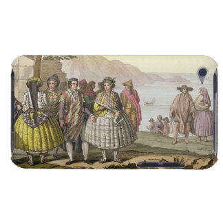 Men and women in elaborate costume, Chile, from 'L Barely There iPod Case