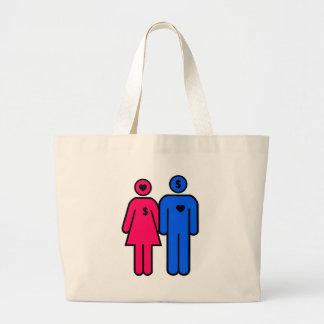 Men and Women Large Tote Bag