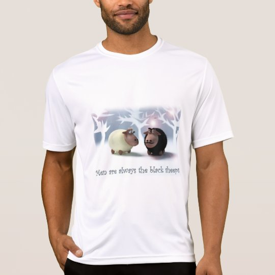 Men are always the black sheeps Funny T-Shirt