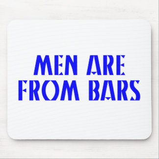 Men Are From Bars Mouse Pad