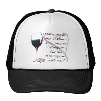 Men are like fine Wine humorous gifts Trucker Hat
