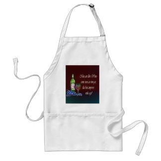 Men are like Wine! Humorous Wine Quote Gifts Adult Apron