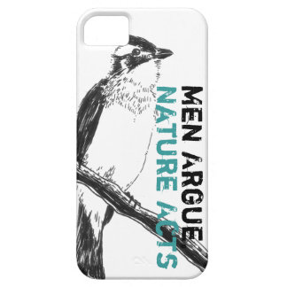 Men Argue, Nature Acts. Zen companion Iphone4 Case