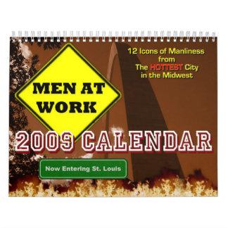 Men at Work - 2009 Calendar