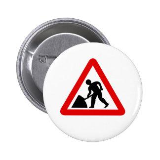 Men at Work 2 Inch Round Button