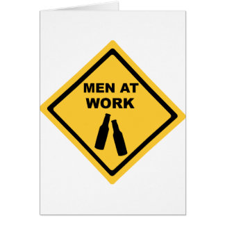 Men at Work Card