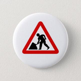 Men at Work Pinback Button