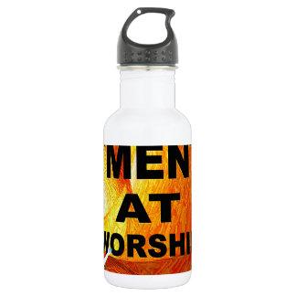 Men at Worship 18oz Water Bottle