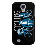 Men Bicycling Galaxy S4 Covers