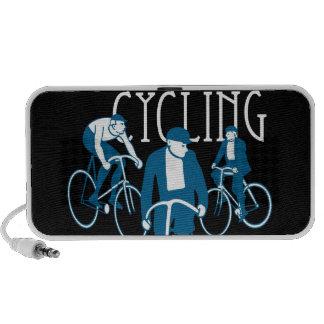 Men Bicycling Speaker
