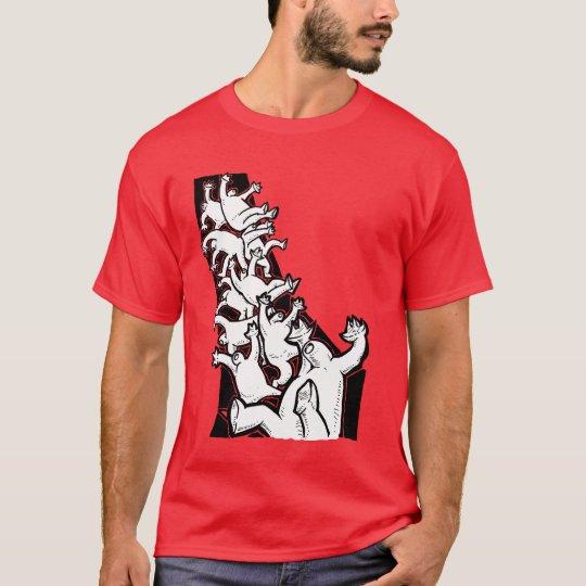 Men-Falling T-Shirt